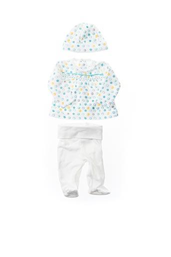 Top/pantalon blanc BOBOLI pour fille