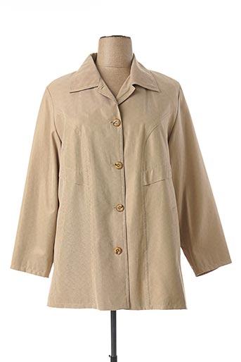 Veste casual beige ARIELLE pour femme