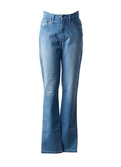 Jeans coupe droite bleu ROSA ROSAM pour femme