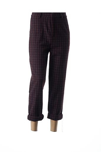 Pantalon casual rouge DAPHNEA pour femme