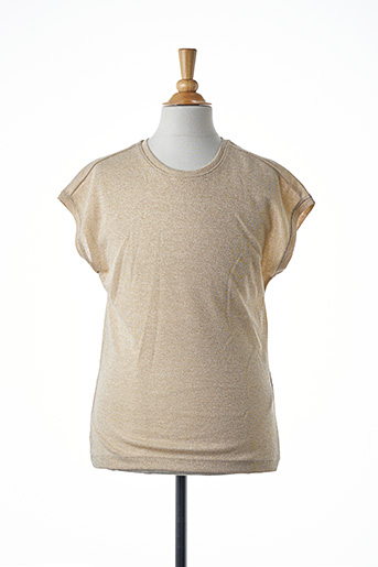 T-shirt manches courtes beige ONLY pour fille