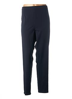 Pantalon 7/8 bleu FABER pour femme