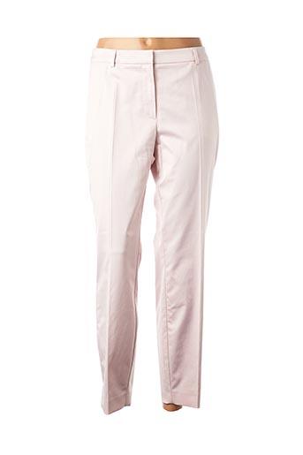 Pantalon 7/8 rose COMMA, pour femme