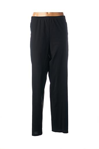Pantalon casual noir PAUSE CAFE pour femme