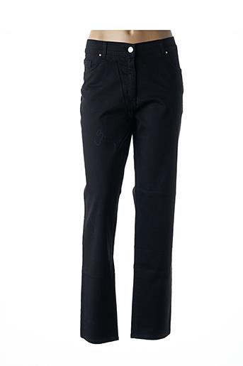 Pantalon casual noir EAST DRIVE pour femme