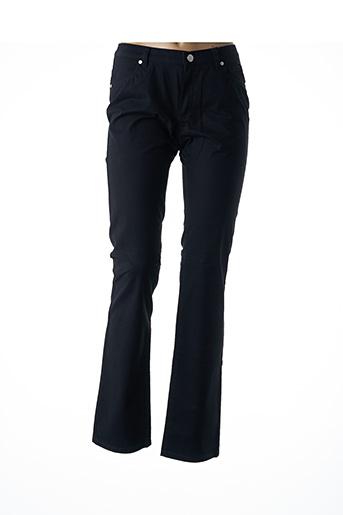 Pantalon casual noir EUGEN KLEIN pour femme
