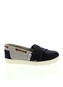 Chaussures bâteau bleu TOMS pour garçon