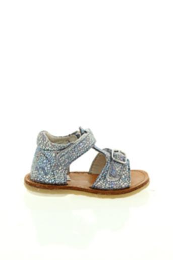 Sandales/Nu pieds bleu NOËL pour fille