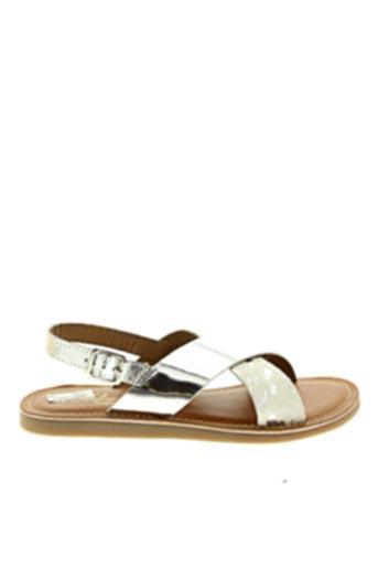 Sandales/Nu pieds gris L'ATELIER TROPÉZIEN pour fille