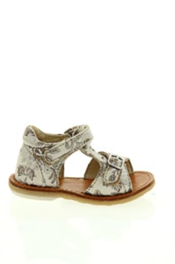 Sandales/Nu pieds gris NOËL pour fille