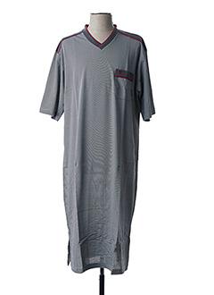 Pyjama gris HAJO pour homme