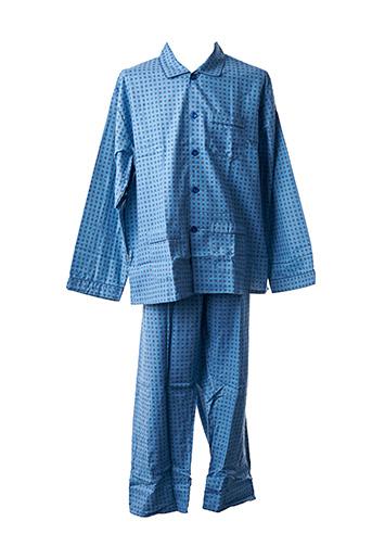Pyjama bleu ELIAN pour homme