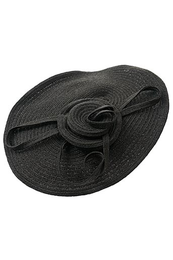 Chapeau noir CHERI BIBI pour femme