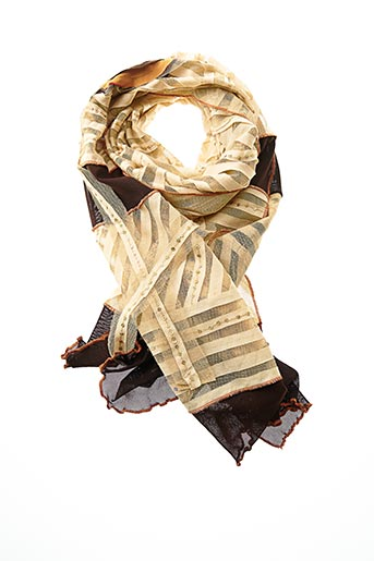 Foulard beige VIVA PAQUITA pour femme