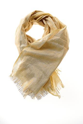 Foulard jaune IDEA PLUS pour femme