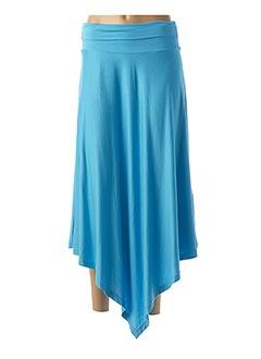 Jupe longue bleu CANAT pour femme
