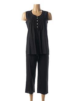 Top/pantalon noir CANAT pour femme