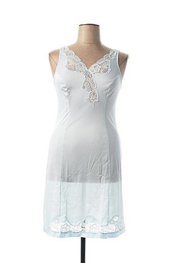Jupon /Fond de robe bleu HELIOS pour femme