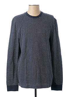 Sweat-shirt bleu HARRIS WILSON pour homme