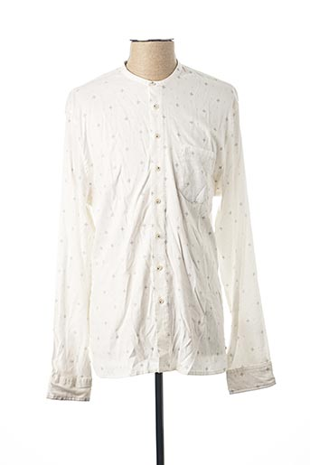 Chemise manches longues blanc PEARLY KING pour homme