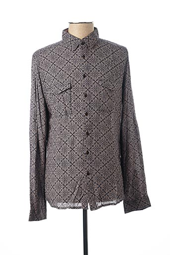 Chemise manches longues bleu PEARLY KING pour homme