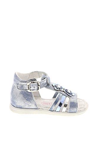 Sandales/Nu pieds bleu BOPY pour fille