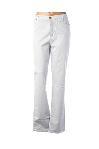Pantalon casual bleu CRN-F3 pour femme