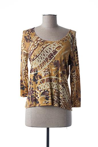 T-shirt manches longues beige FINETTE pour femme