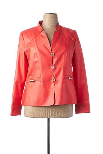Veste chic / Blazer rouge ANNE KLEIN pour femme