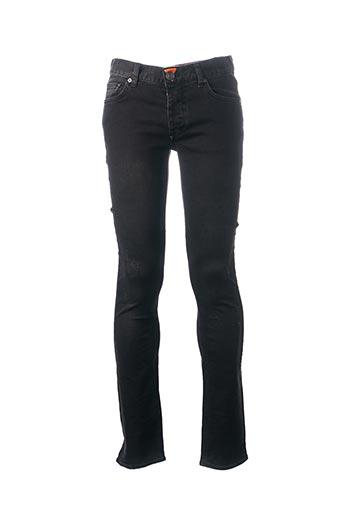 Jeans coupe slim noir DEEPEND pour homme