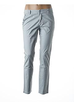 Pantalon casual gris SCHOOL RAG pour femme