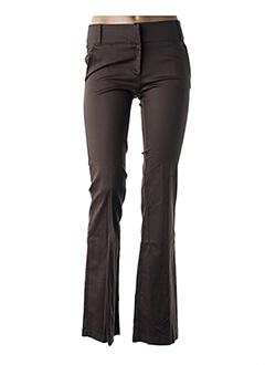 Pantalon casual vert ANGE pour femme
