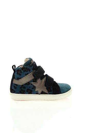 Baskets bleu ACEBOS pour fille