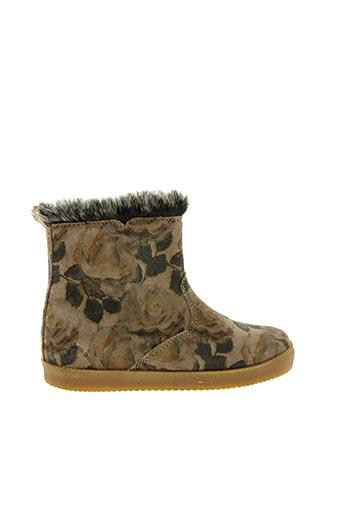 Bottines/Boots marron NOËL pour fille