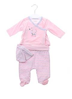 Veste/pantalon rose BABY BOL pour fille