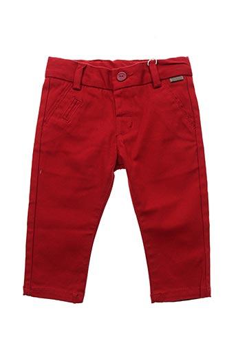 Pantalon casual rouge BOBOLI pour garçon