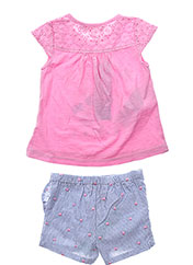 Top/robe rose BOBOLI pour fille seconde vue