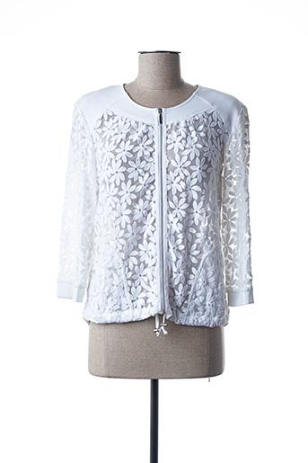 Veste casual blanc EUGEN KLEIN pour femme