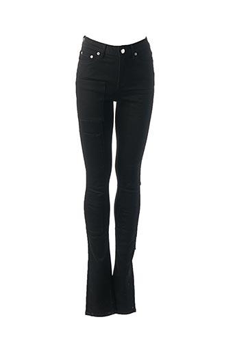 Pantalon casual noir BLK DNM pour femme