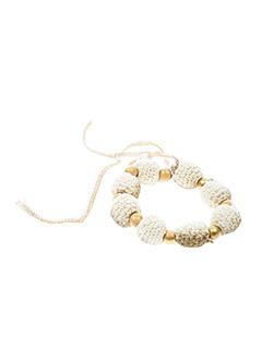 Bracelet beige AMBRE BABZOE pour femme