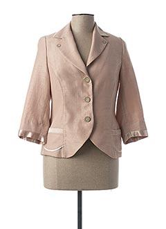 Veste chic / Blazer beige IMPULSION pour femme