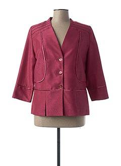 Veste chic / Blazer rouge IMPULSION pour femme
