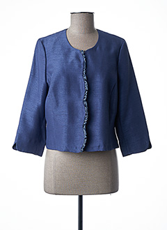Veste chic / Blazer bleu IMPULSION pour femme