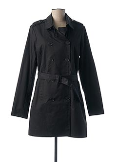 Imperméable/Trench noir I.CODE (By IKKS) pour femme