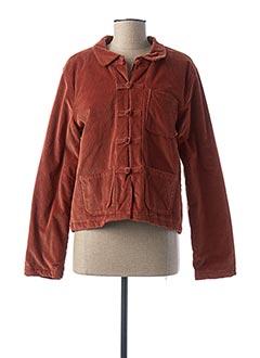Veste casual marron LEON & HARPER pour femme