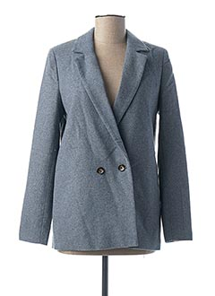 Veste chic / Blazer bleu ICHI pour femme
