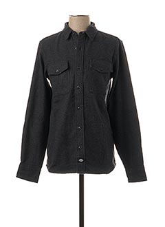 Chemise manches longues vert DICKIES pour homme