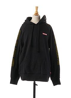 Sweat-shirt noir LEVIS pour femme