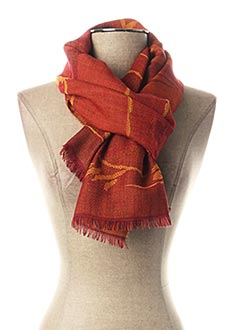 Foulard rouge GUY LAROCHE pour femme