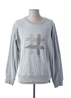 Sweat-shirt gris CAMEL ACTIVE pour homme